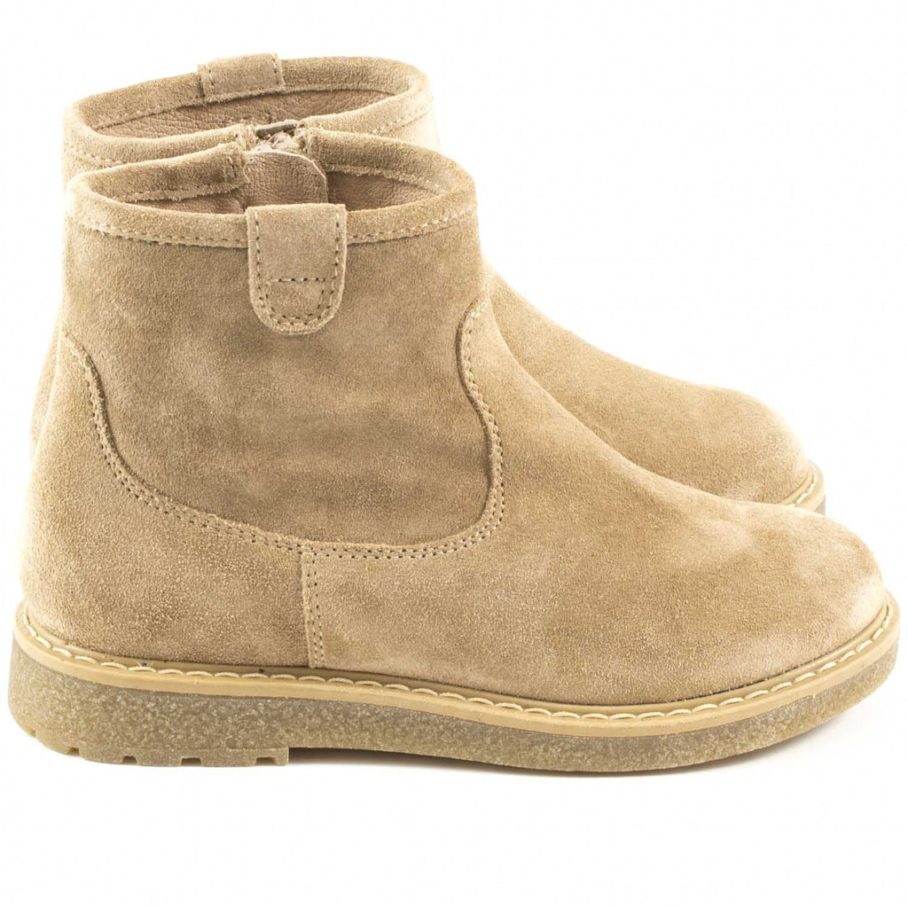 Bottines Novio Beige-Fille-UNISA-Maralex Paris
