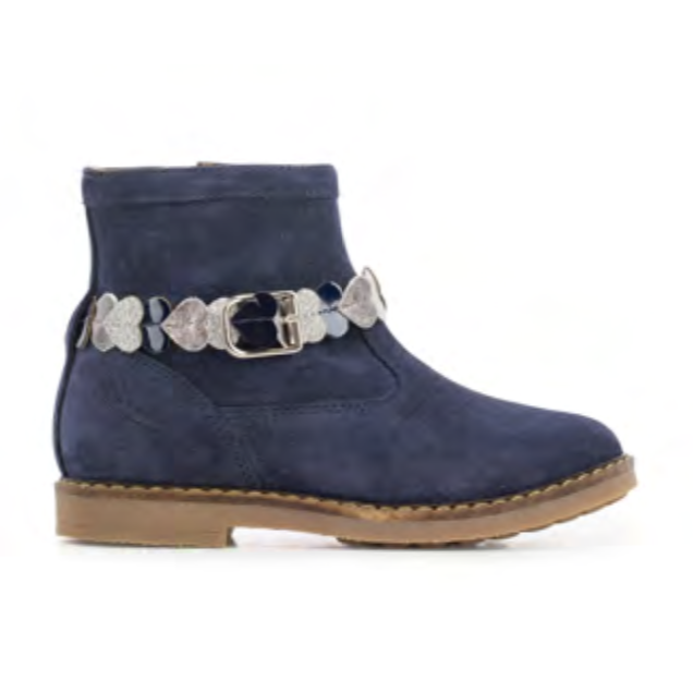 BOTTINES TRIP HEART NAVY-BOTTINES & BOOTS-POM D'API-Maralex Paris (3568137830463)