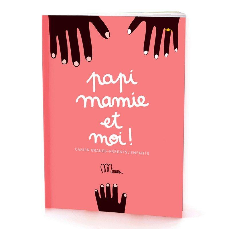 Cahier Grand Parent/enfant-Fille-MINUS-Maralex Paris (1975980425279)