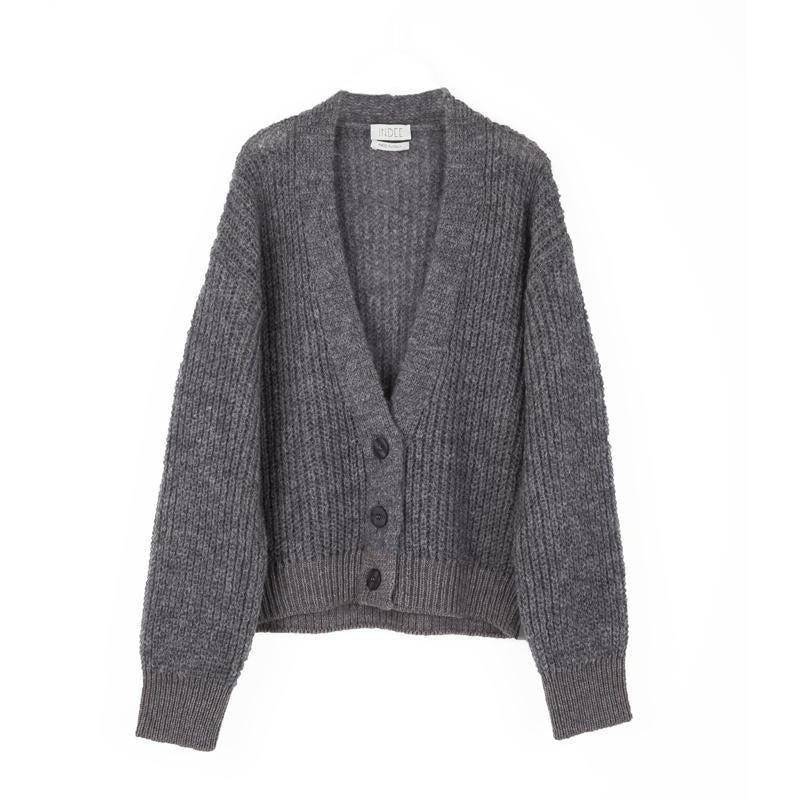 CARDIGAN FOAM-PULLS & GILETS-INDEE-Maralex Paris