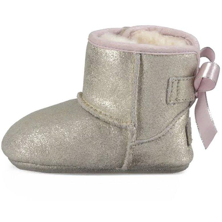Chaussons Jess Bow II Metallic-Bébé fille-UGG-Maralex Paris