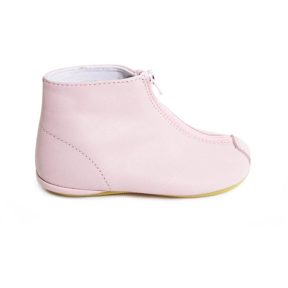 Chaussons Zip Rose-Bébé fille-GALLUCCI-Maralex Paris