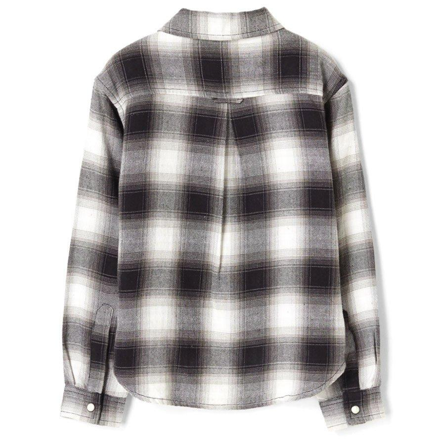 Chemise Dao Black Checks-Fille-FINGER IN THE NOSE-Maralex Paris