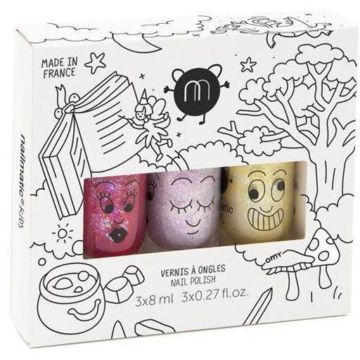 Coffret 3 Vernis Magic Forest-Fille-NAILMATIC-Maralex Paris