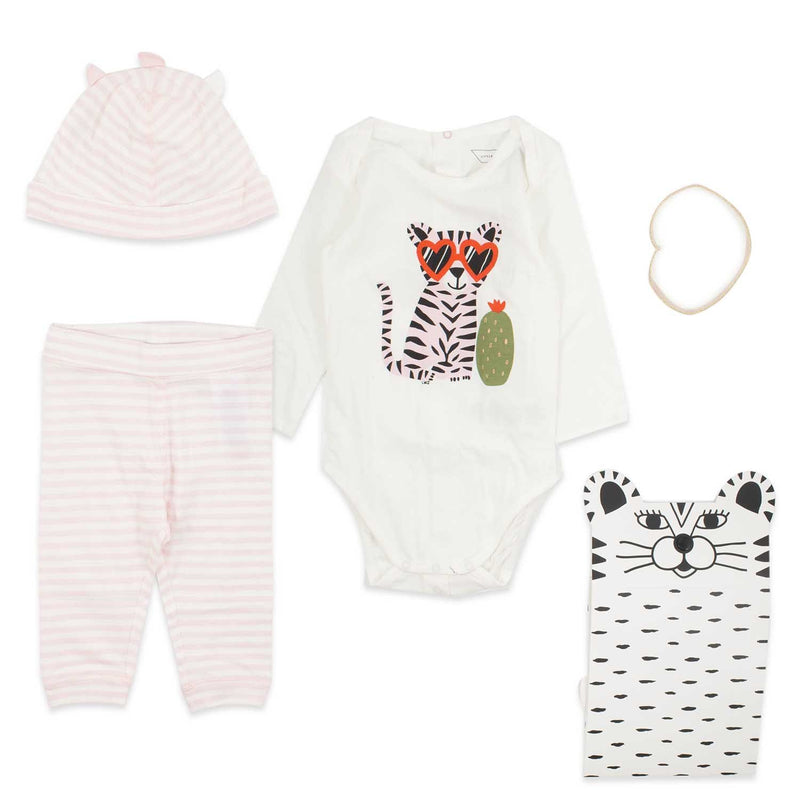 Coffret pyjama Lea-Bébé fille-LITTLE MARC JACOBS-Maralex Paris (1975687807039)