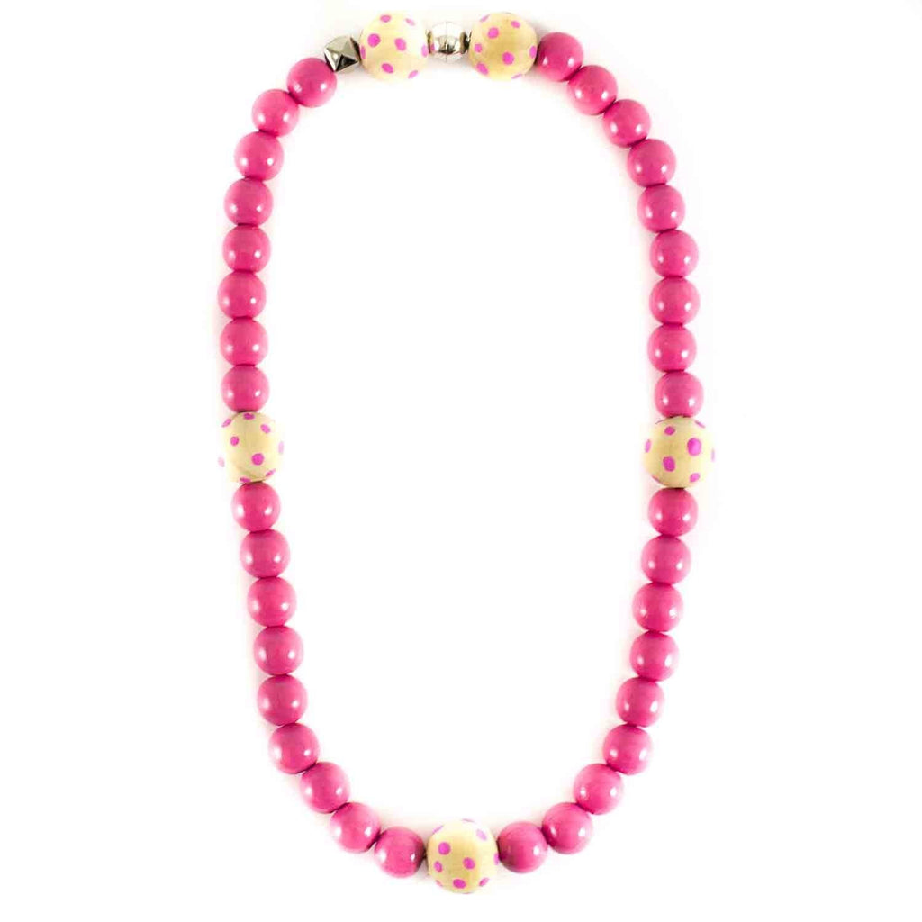 Collier bicolore pois-Fille-SWEETIES-Maralex Paris