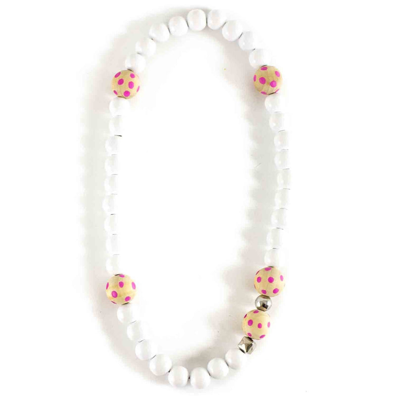 Collier bicolore pois-Fille-SWEETIES-Maralex Paris (1975475535935)