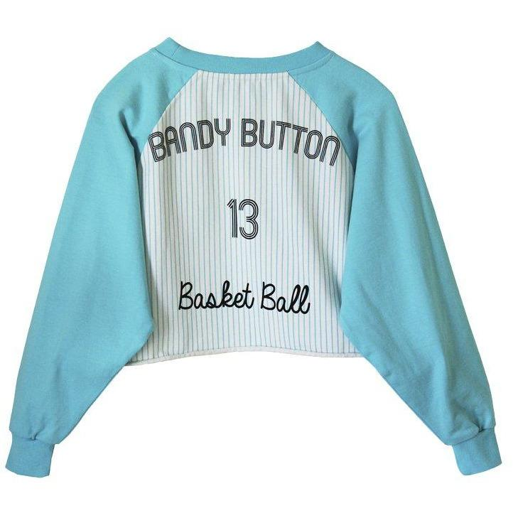 Cutler Short Sweatshirt-A trier FASTMAG-BANDY BUTTON-Maralex Paris (1976245452863)