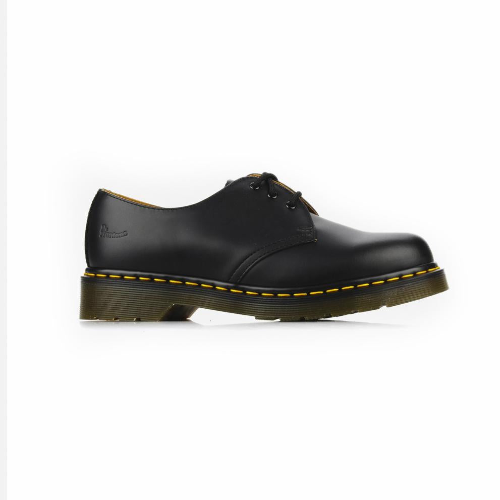 DERBIES BLACK SMOOTH-BOTTINES & BOOTS-DR MARTENS-Maralex Paris