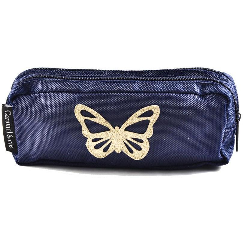 Double Trousse Papillon-A trier FASTMAG-CARAMEL AND CIE-Maralex Paris