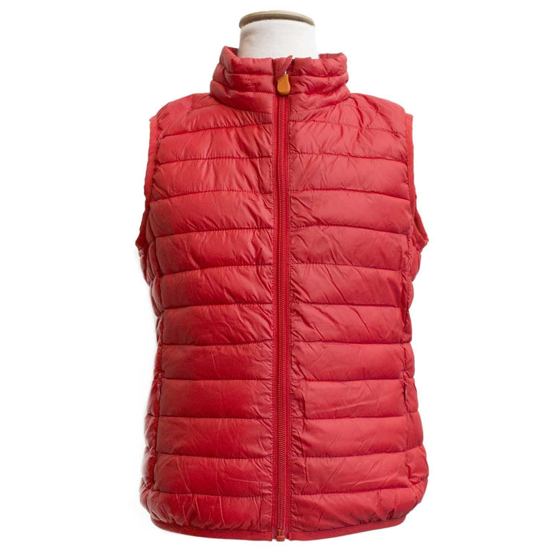 Doudoune gillet rouge-Fille-SAVE THE DUCK-Maralex Paris