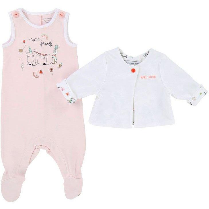 Ensemble Pyjama Licorne-Fille-LITTLE MARC JACOBS-Maralex Paris