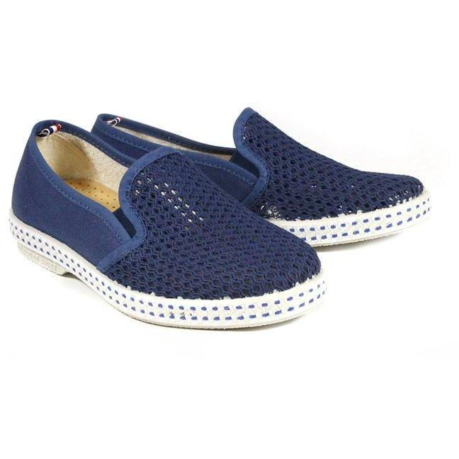 Espadrille 20° Blue Work-Fille-RIVIERAS-Maralex Paris