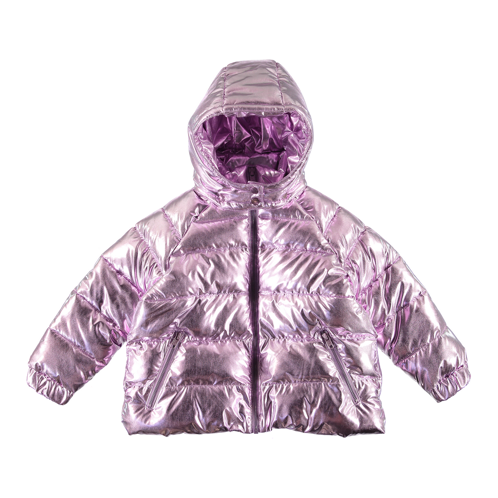 Foil Fabric Puffer Jacket-A trier FASTMAG-STELLA MCCARTNEY KIDS-Maralex Paris (1976298111039)