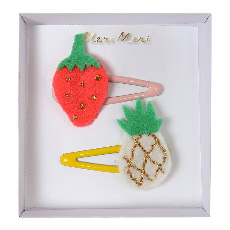 Fruits Hair Clips-Mobilier & Loisirs-MERI MERI-Maralex Paris (1975968071743)