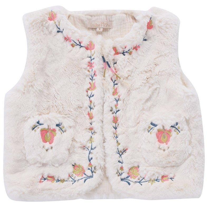 Gilet Timour Cream-Fille-LOUISE MISHA-Maralex Paris (1976126636095)