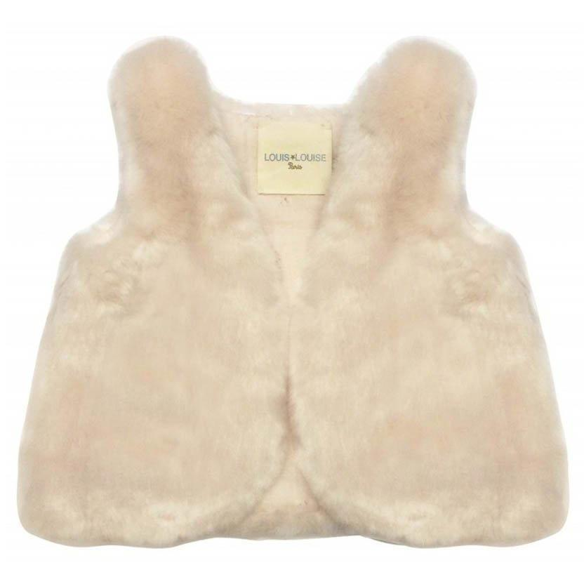 Gilet Virginie Fake Fur-Bébé fille-LOUIS LOUISE-Maralex Paris