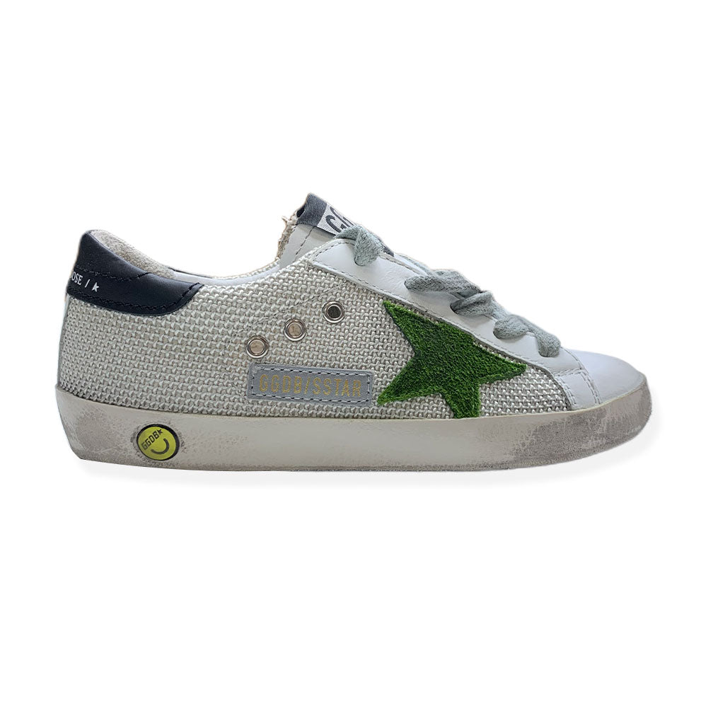 Baskets Superstar Green-GOLDEN GOOSE-Maralex Paris