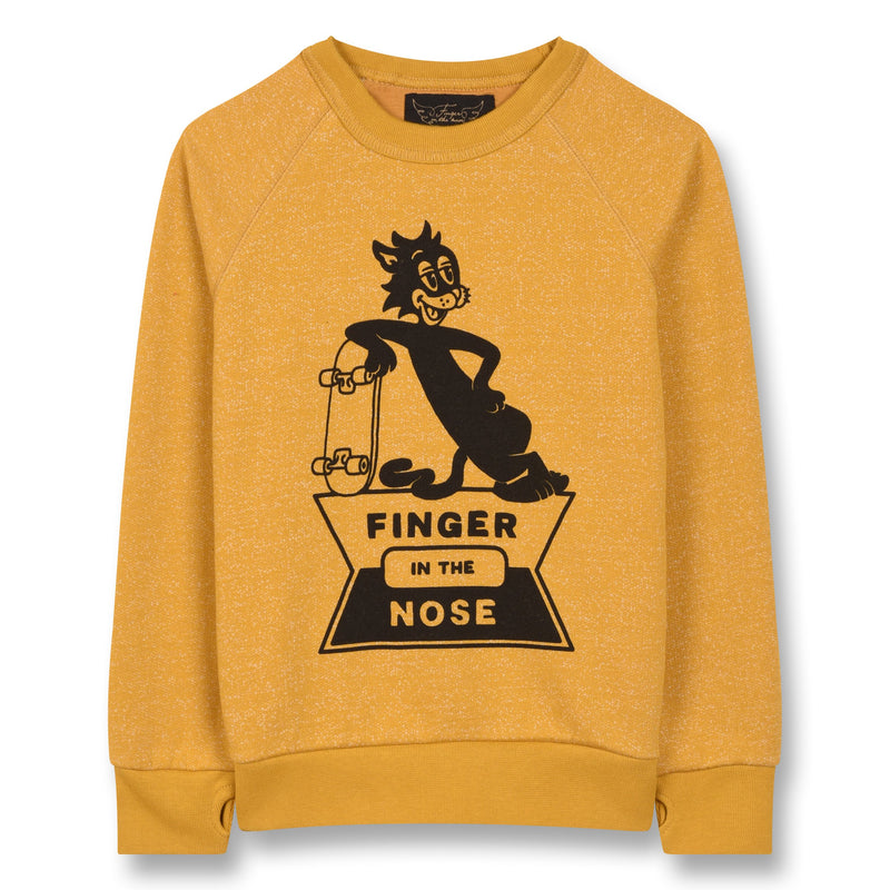 HANK SKATE CAT-SWEATS & GILETS-FINGER IN THE NOSE-Maralex Paris