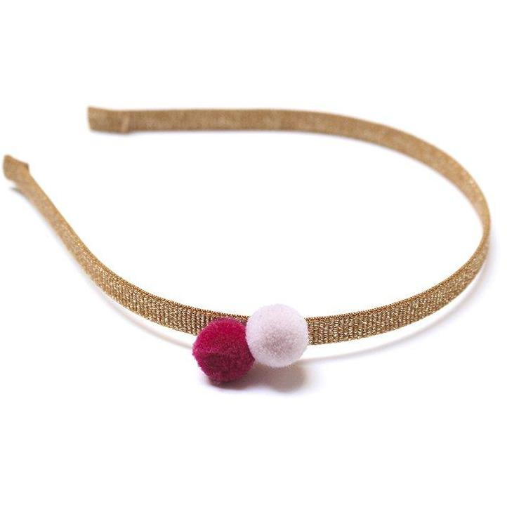 Headband 2 Poms Masala-Fille-FIVE ELEVEN-Maralex Paris