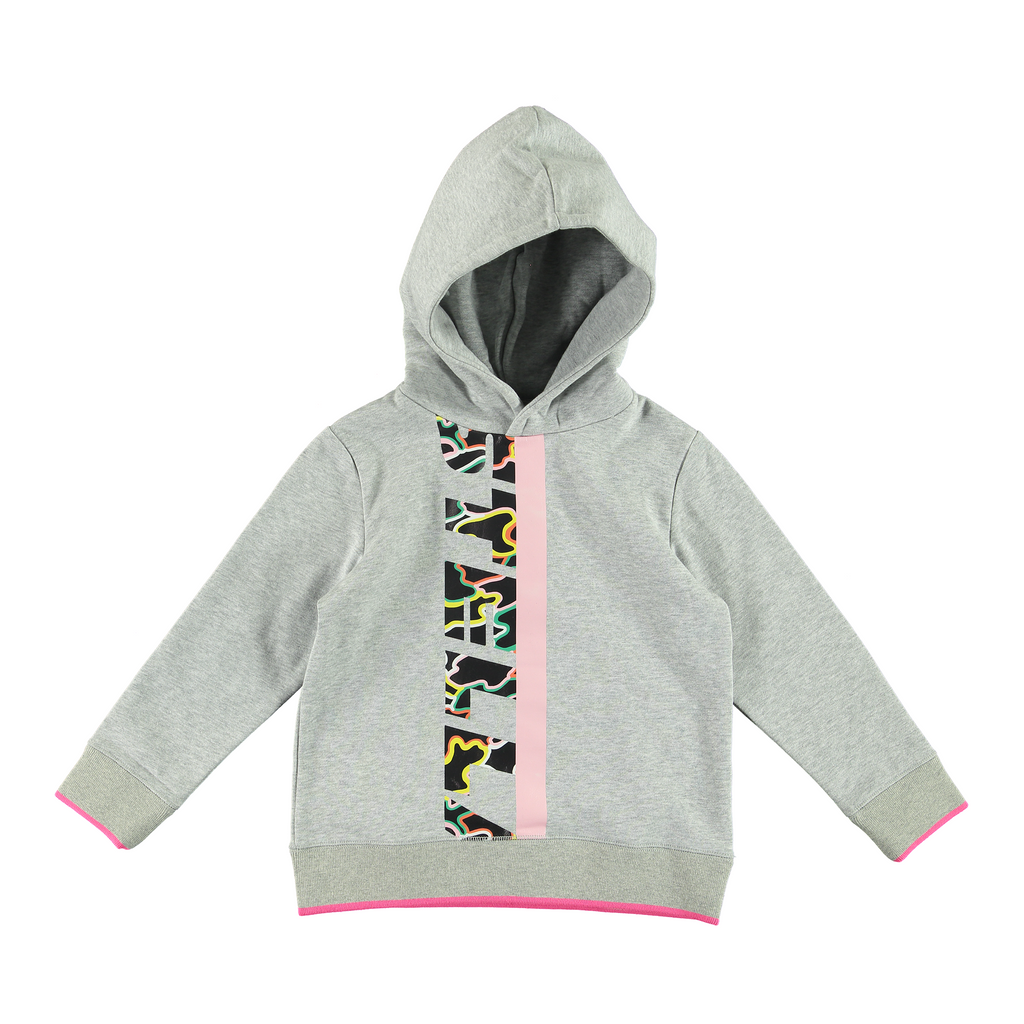 HOODIE CAMO LOGO-SWEATS & GILETS-STELLA MCCARTNEY KIDS-Maralex Paris