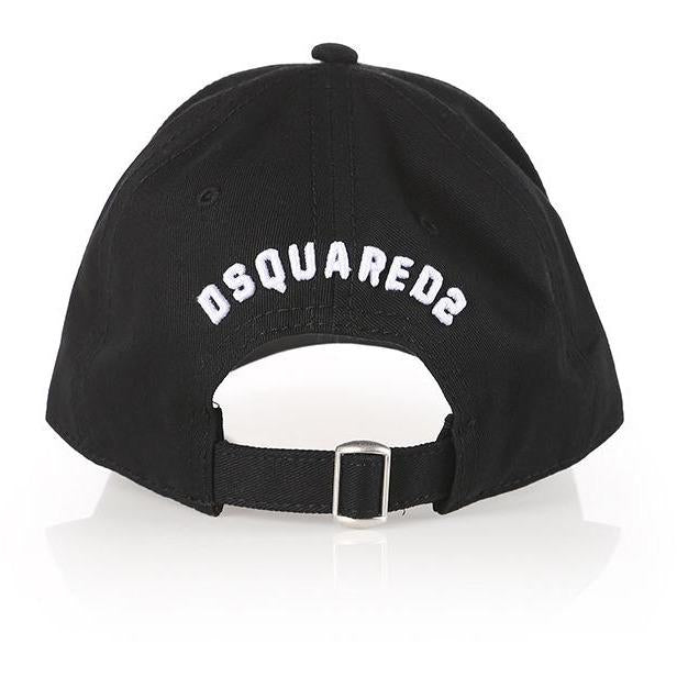 Icon Black Casquette-A trier FASTMAG-DSQUARED2-Maralex Paris