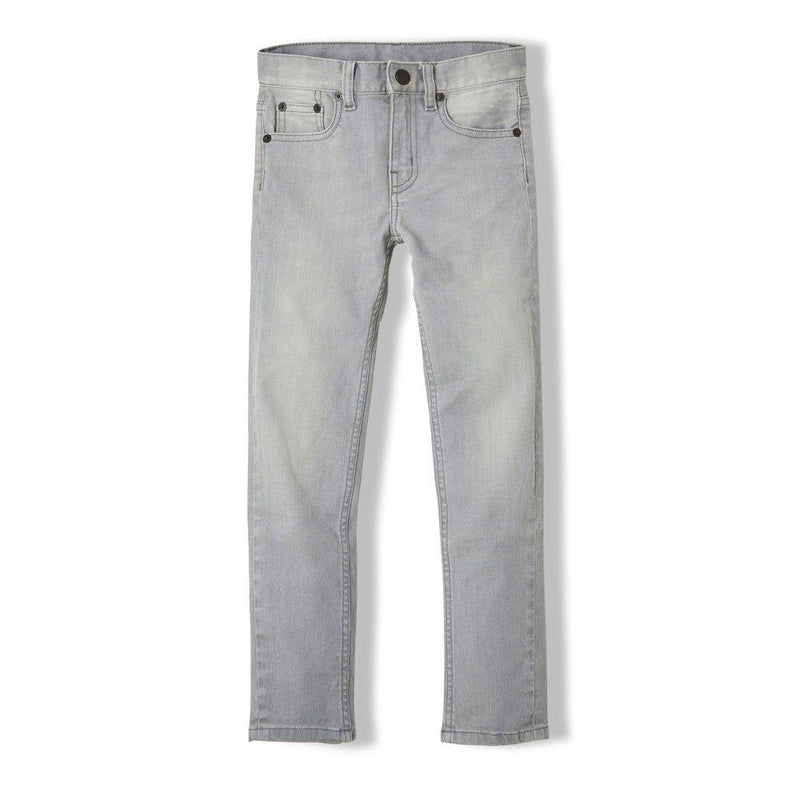Jeans Icon Bleached Grey-Fille-FINGER IN THE NOSE-Maralex Paris