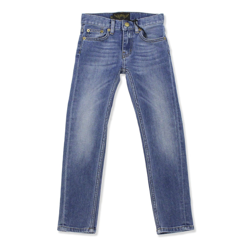 Jeans Icon Blue Vintage-Fille-FINGER IN THE NOSE-Maralex Paris