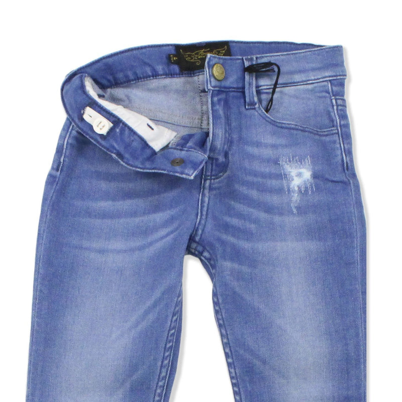 Jeans Tama Light Blue Repaired-Fille-FINGER IN THE NOSE-Maralex Paris (1975849451583)