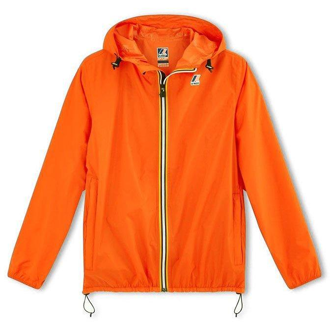 Kway Le Vrai Claude Orange-Fille-K-WAY-Maralex Paris