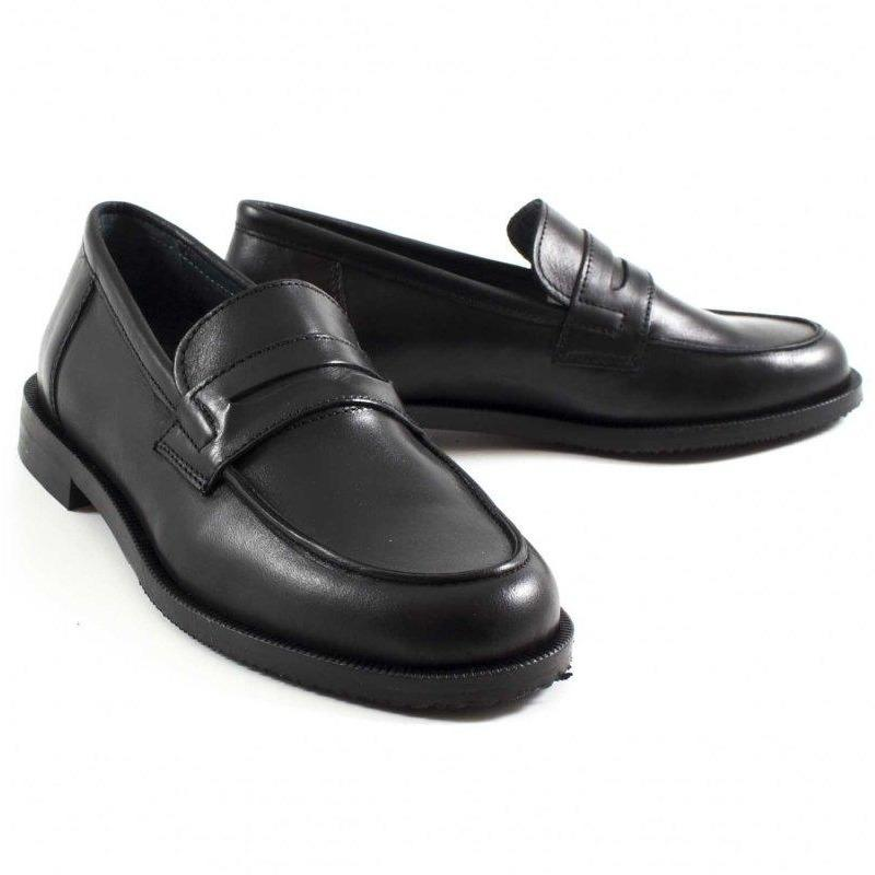 Mocassin Preppy Noir-DERBIES-MARALEX-Maralex Paris (1976294932543)