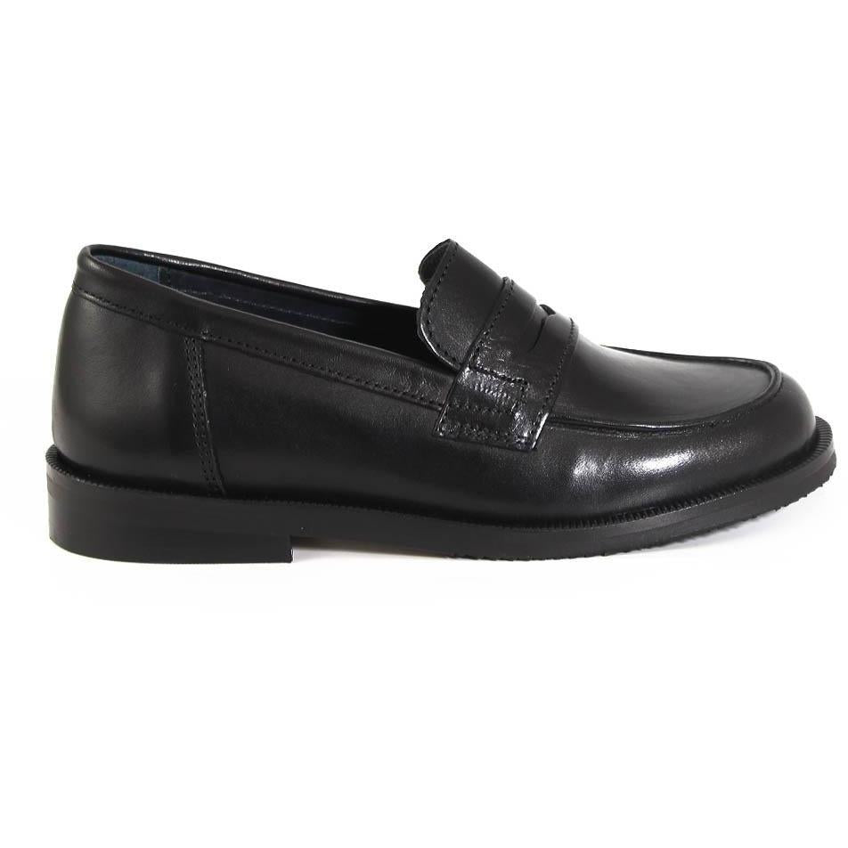 Mocassin Preppy Noir-DERBIES-MARALEX-Maralex Paris