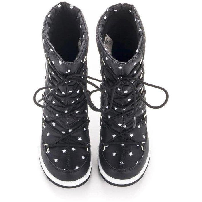 Moon Boot Jr Quilted Star Wp-Fille-MOON BOOT-Maralex Paris