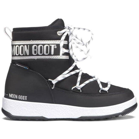 MOON BOOT GIRL LOW SILVER