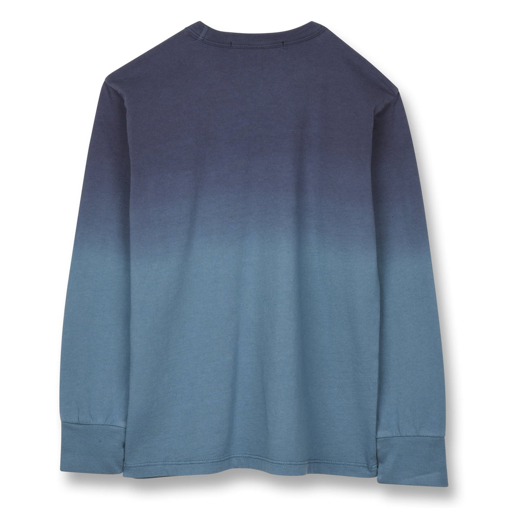 NICO STONE BLUE DIP DYE-TOPS & T-SHIRTS-FINGER IN THE NOSE-Maralex Paris