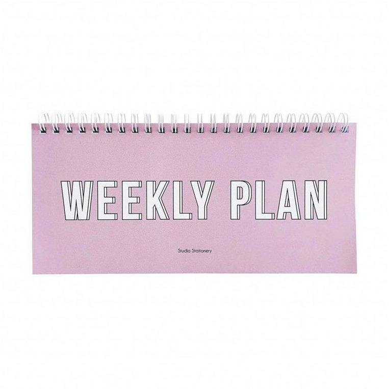 Notebook Weekly Plan-Mobilier & Loisirs-vendor-unknown-Maralex Paris (1976199774271)