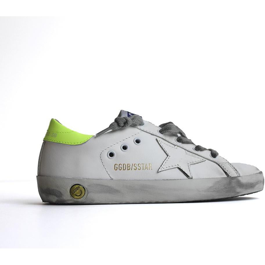 Old School Jaune Fluo-BASKETS & SNEAKERS-GOLDEN GOOSE-Maralex Paris