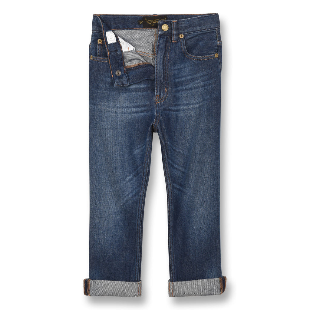 OLLIBIS MEDIUM BLUE-JEANS-FINGER IN THE NOSE-Maralex Paris