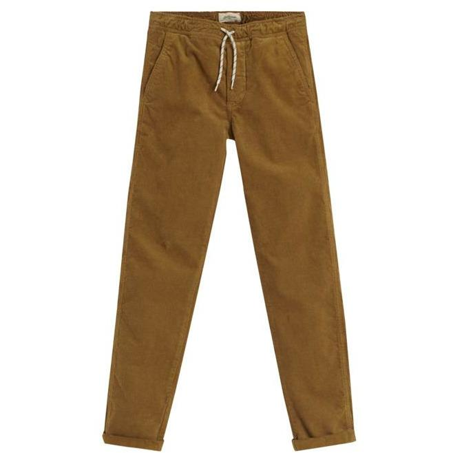 PANT PAINTER MARRON-PANTALONS & JOGGINGS-BELLEROSE-Maralex Paris