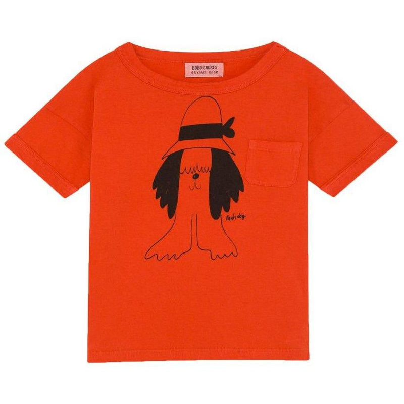 Paul's Short Sleeve T-shirt-Fille-BOBO CHOSES-Maralex Paris