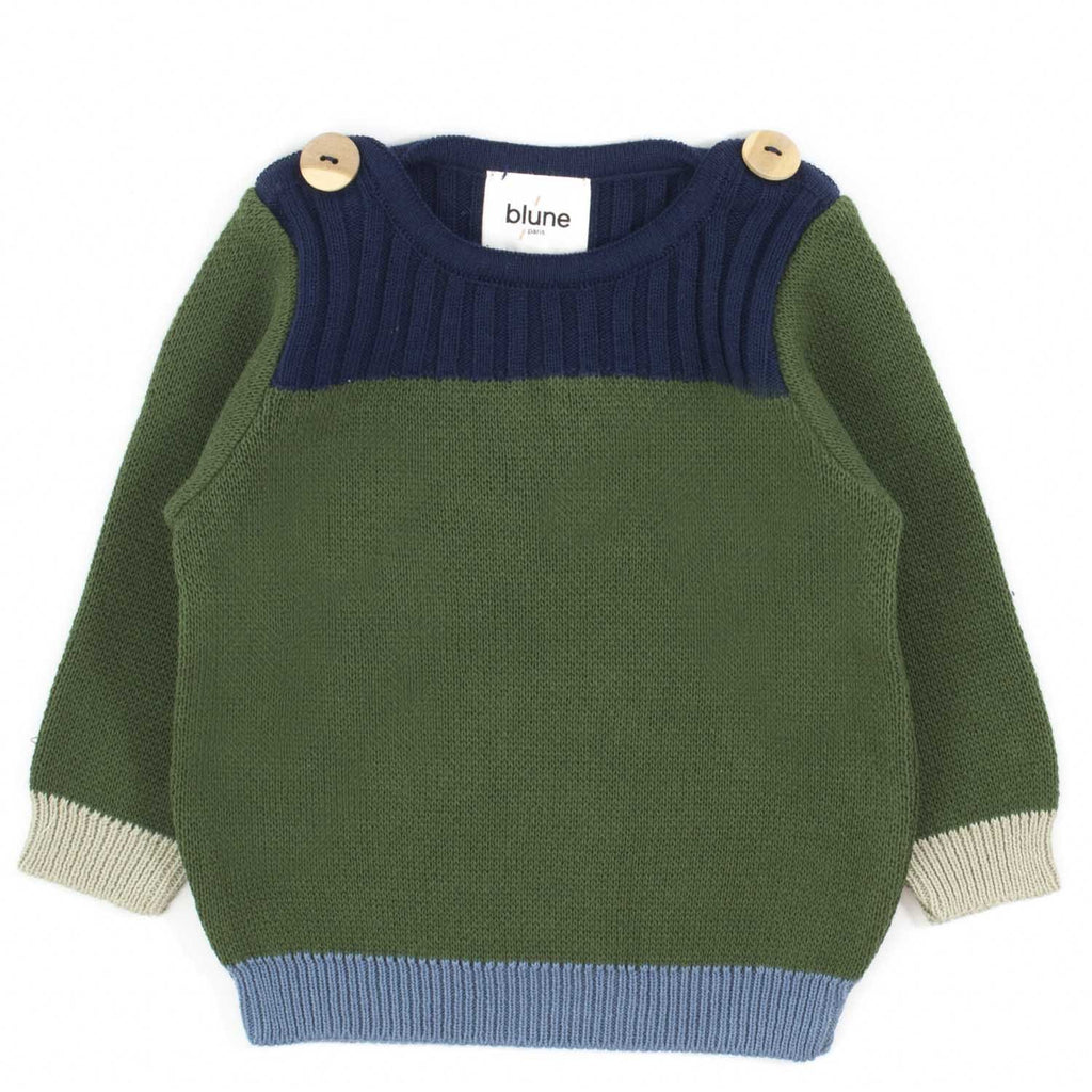 Pull Borderline-Bébé fille-BLUNE-Maralex Paris