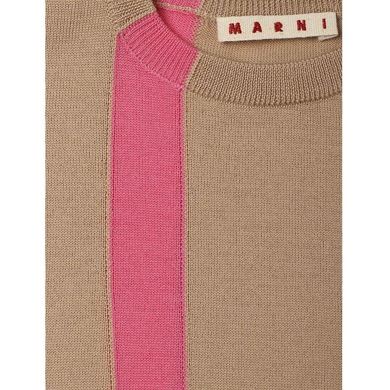 Pullover Rose Stripes-Fille-MARNI-Maralex Paris