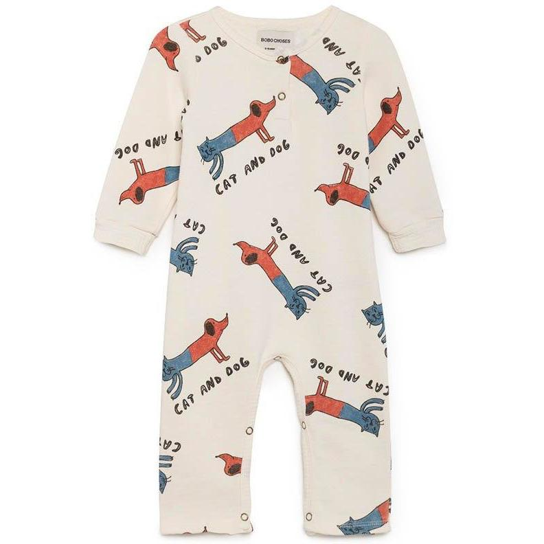Pyjama Cats and Dogs-Bébé fille-BOBO CHOSES-Maralex Paris (1976095866943)