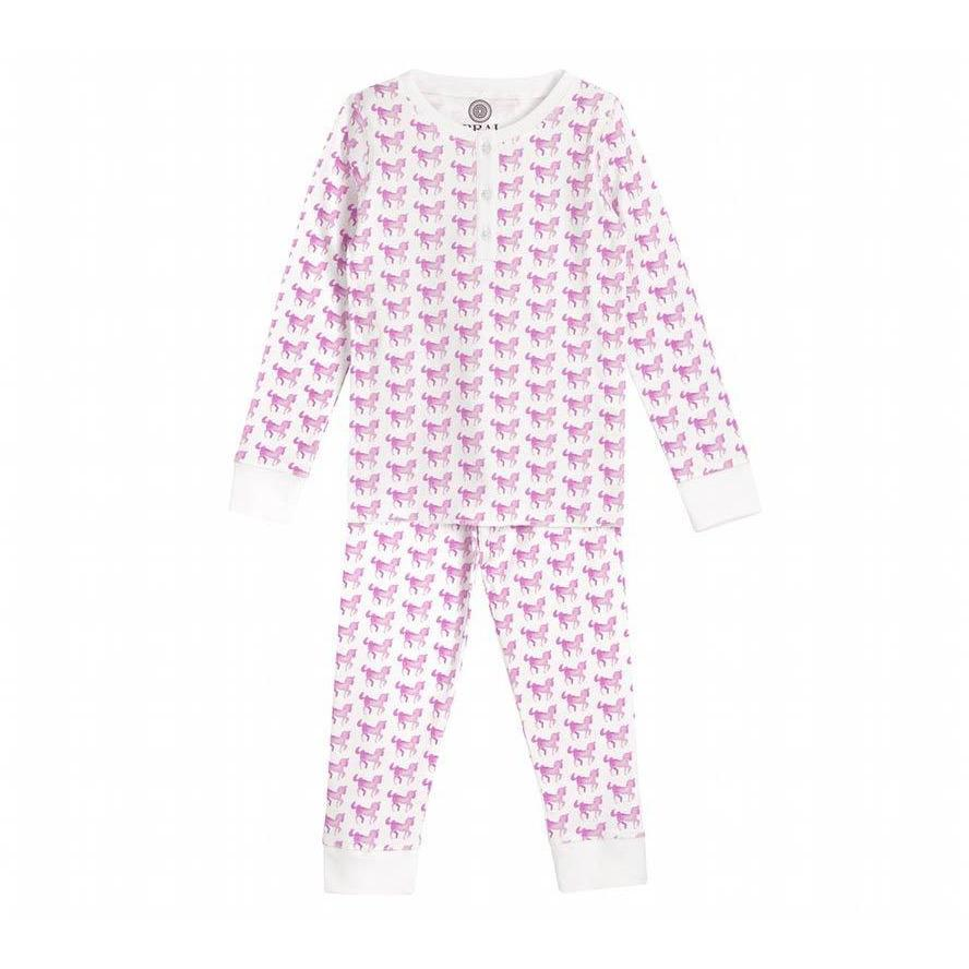 Pyjama Enfant Cheval Rose-Fille-BRAI-Maralex Paris (1976175329343)