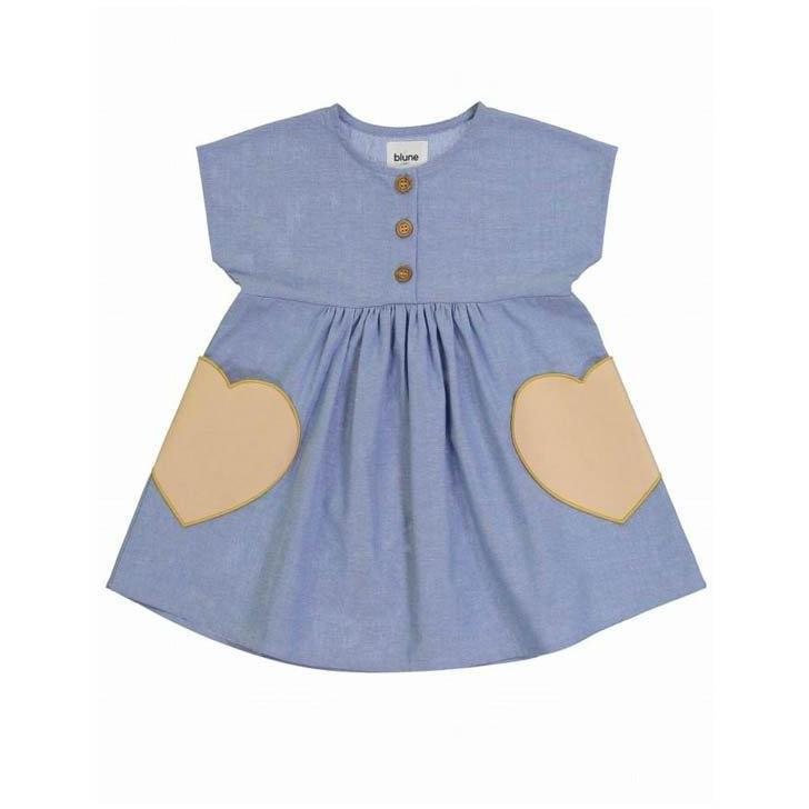 Robe Candy-Bébé fille-BLUNE-Maralex Paris