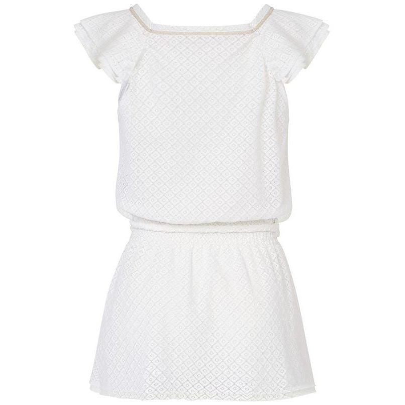 Robe de Plage Bella White-Fille-CANOBIO-Maralex Paris