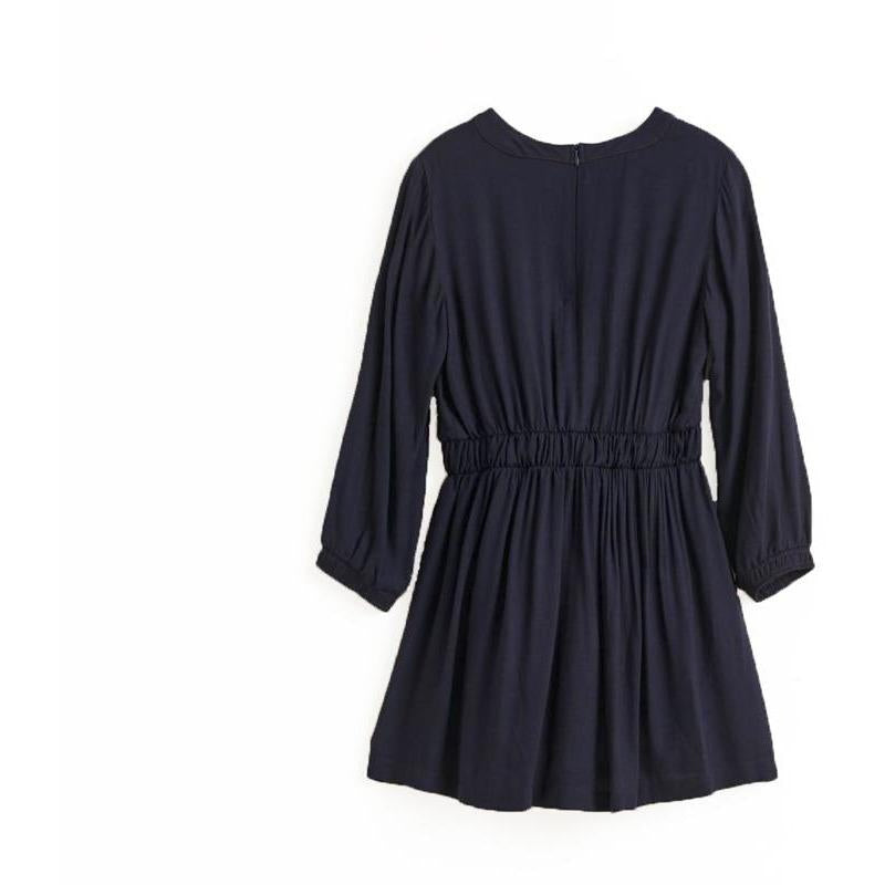 ROBE POWDER NAVY-ROBES & JUPES-BELLEROSE-Maralex Paris