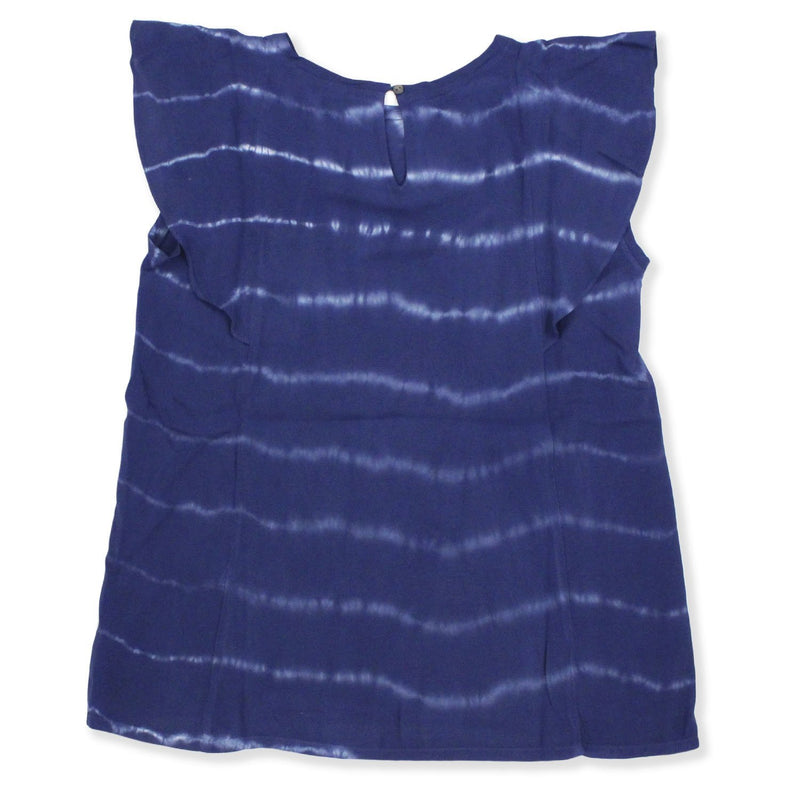 Robe Rayane Tie and Dye Navy-Fille-HARTFORD-Maralex Paris (1975867047999)