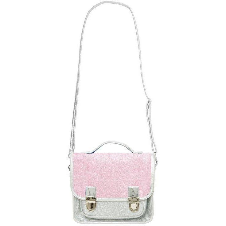 Sac Paillettes Argent Rose-Fille-CARAMEL AND CIE-Maralex Paris