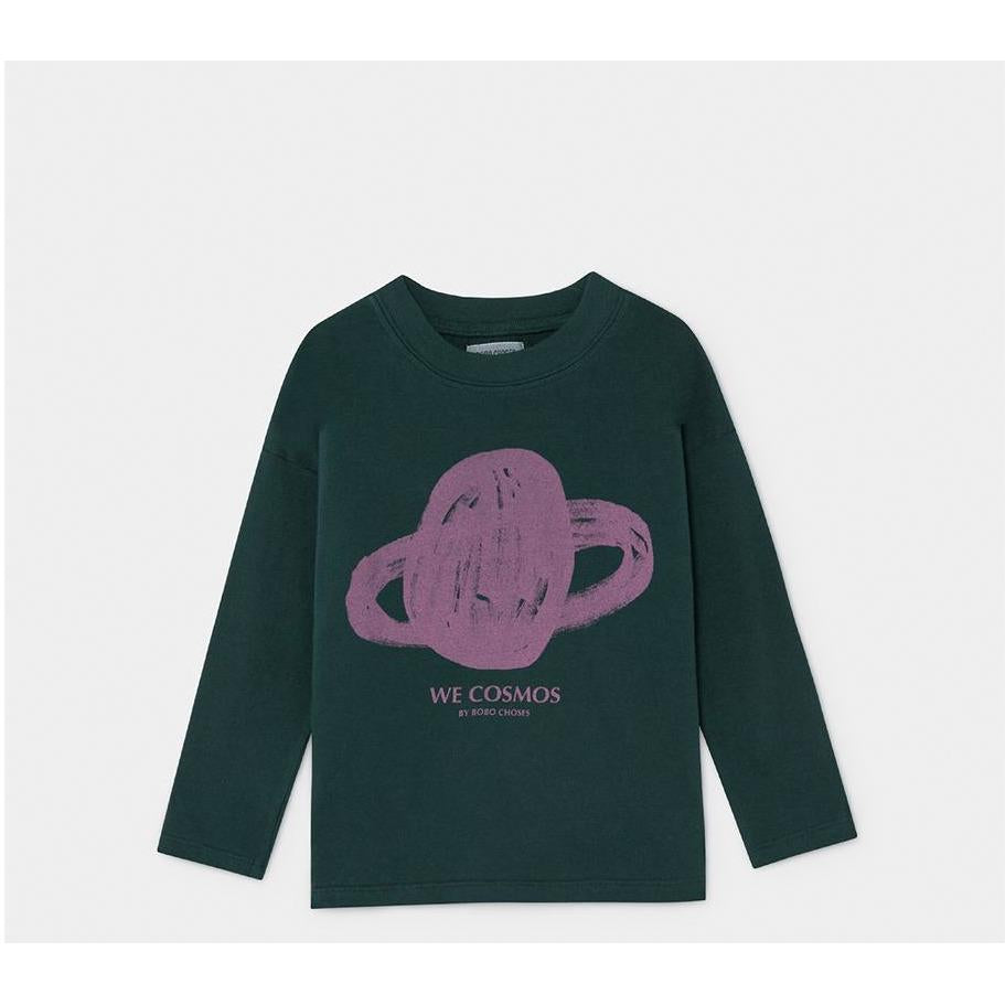 Saturn Long Sleeve T-Shirt-A trier FASTMAG-BOBO CHOSES-Maralex Paris